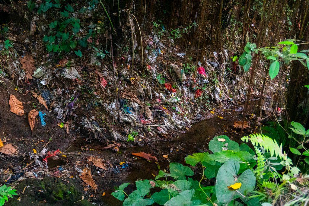 pared de plástico