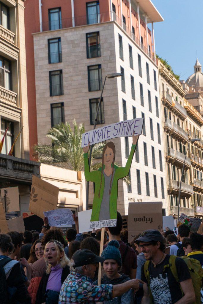 El movimiento para frenar el cambio climático lo lidera Greta Thunberg.