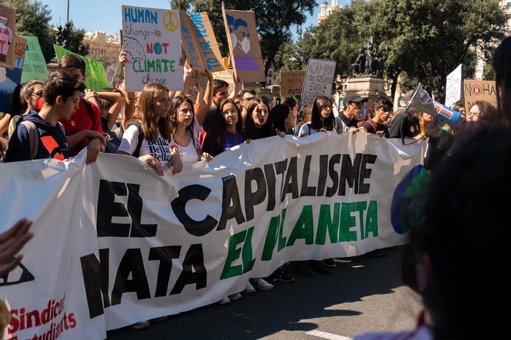 No es posible frenar el cambio climático con el capitalismo.