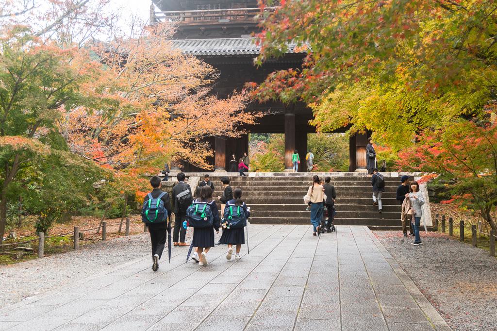 Comida vegana en Kioto y Nara