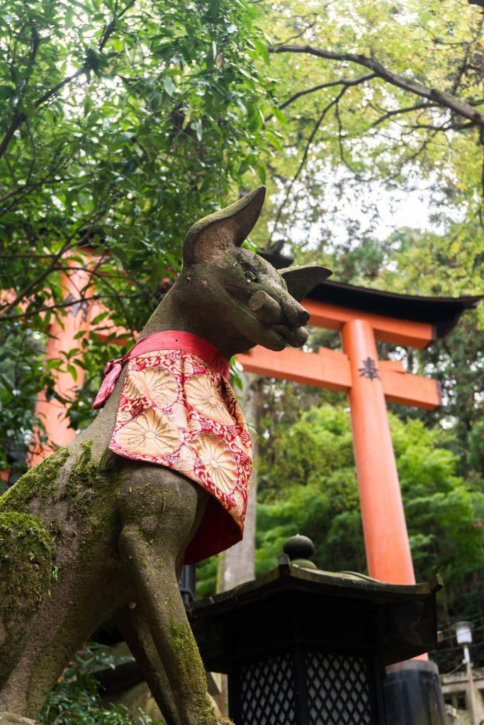 Fushimi Inari temple.