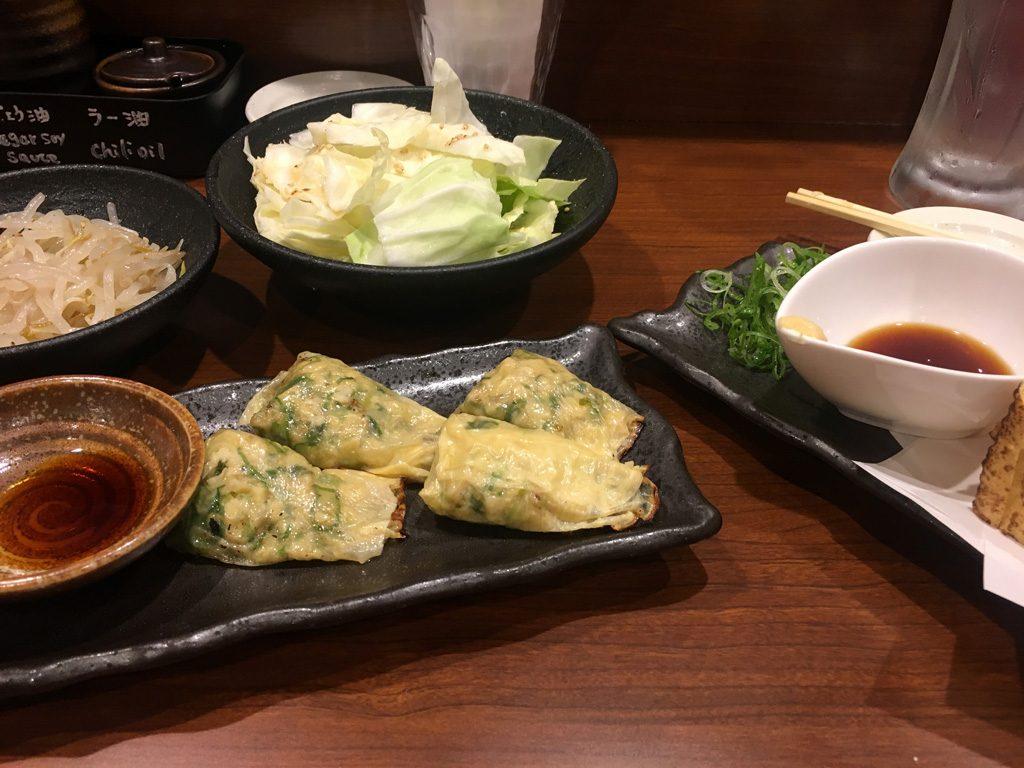 Comida vegana en Kioto. Chao Chao Gyoza.