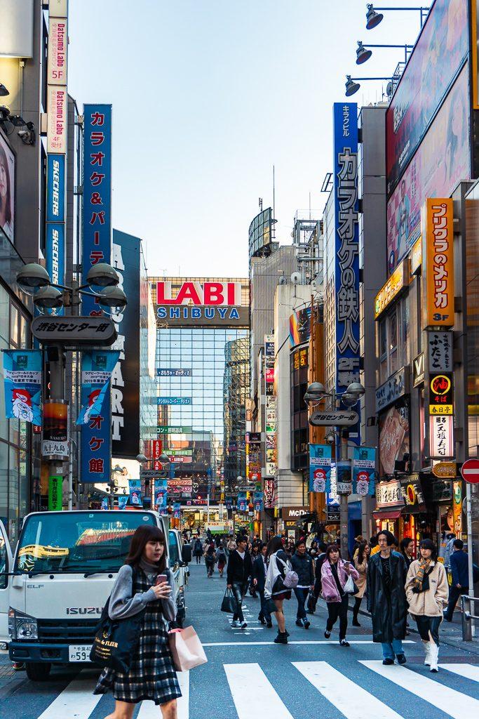 Barrio de Shibuya