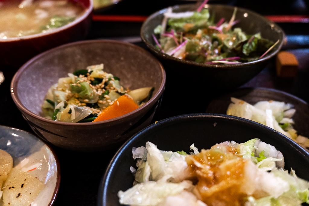 Comida vegana en Tokio