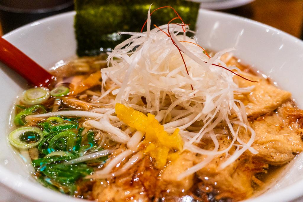 Comida vegana en Tokio: ramen