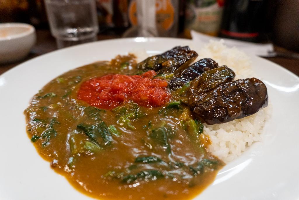 Comida vegana en Tokio: curry