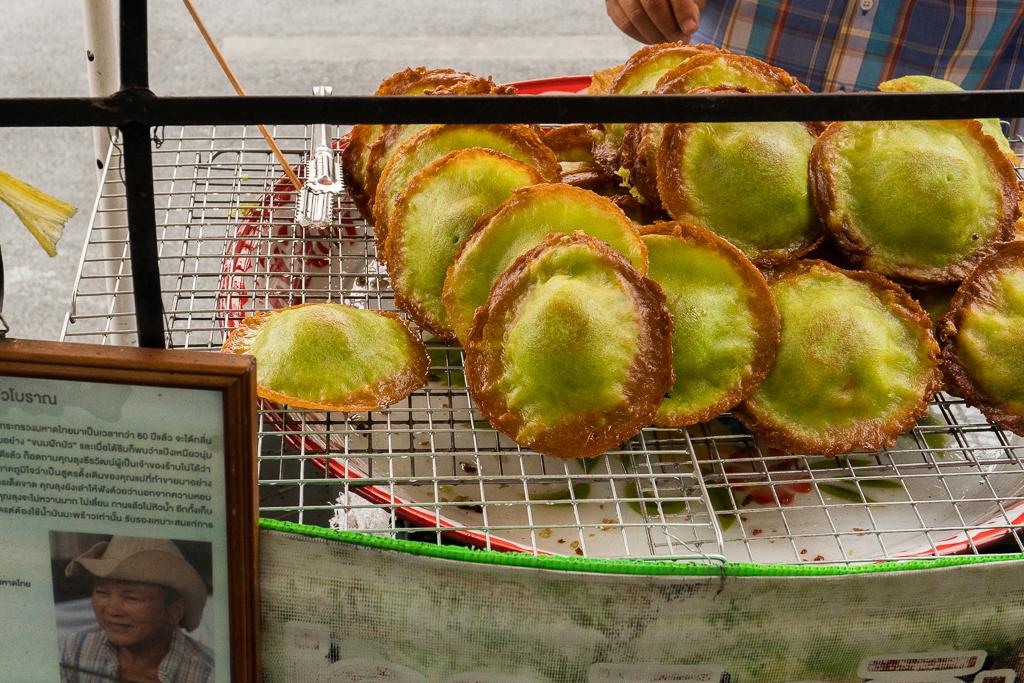 comer vegano en Tailandia: banana coconut