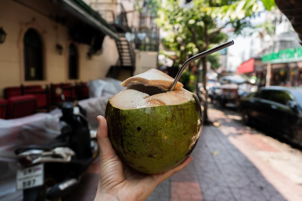 Coco fresco en tailandia