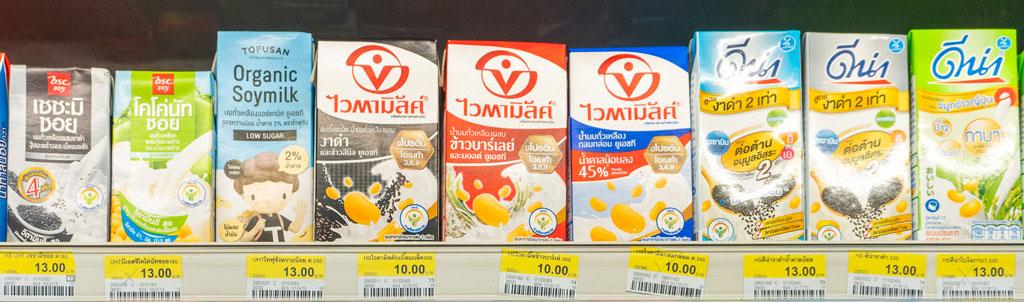 bebidas vegetales tailandia