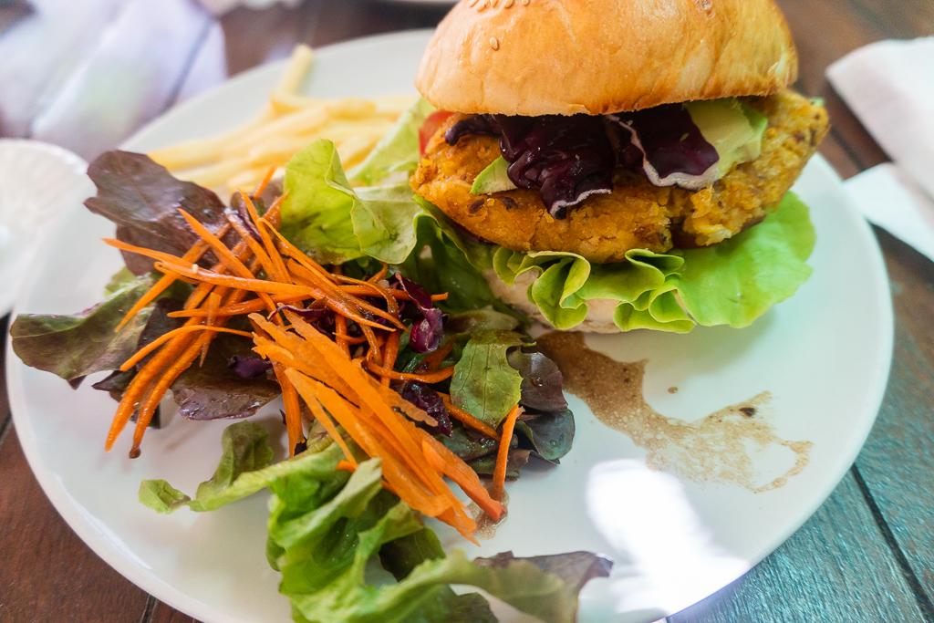 hamburguesa vegana tailandia