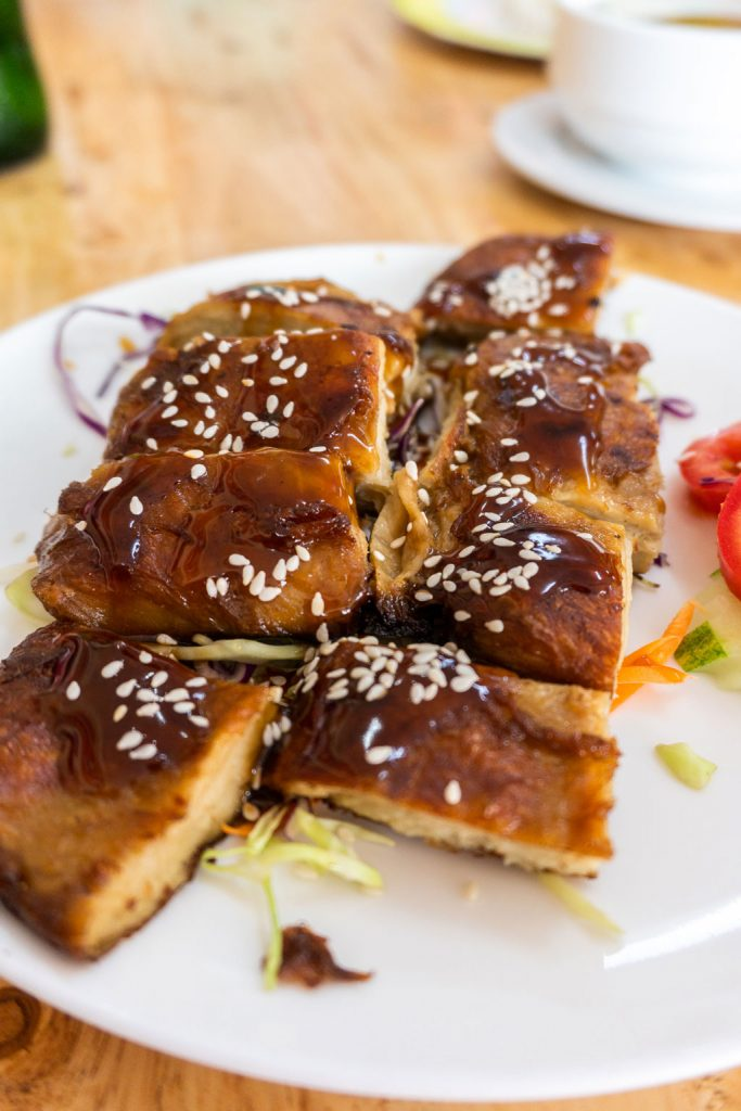 pato de soja en inn restaurant