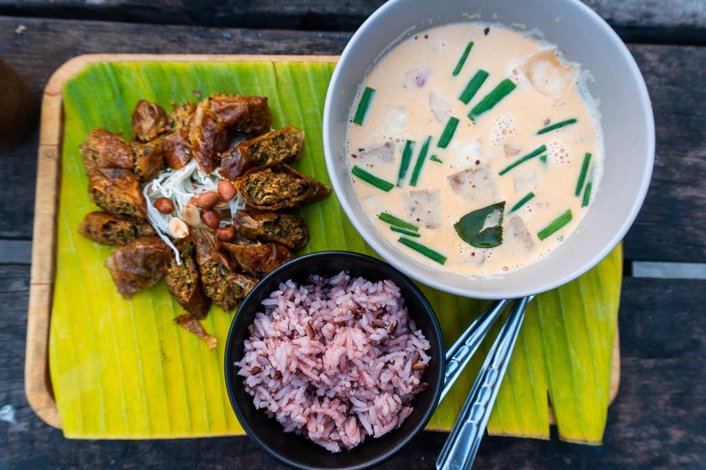 comida vegana en tailandia: vegan secret restaurant